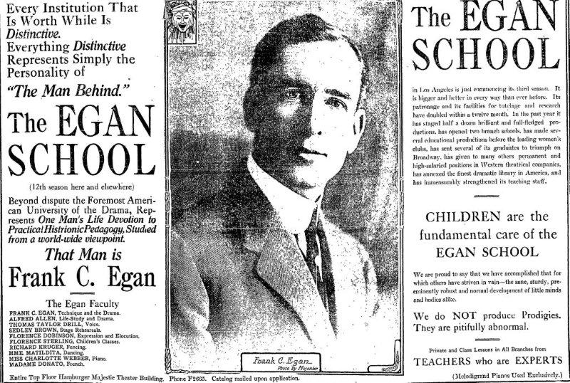 Egan School Ad Big