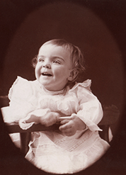 One-year-old Ursula
