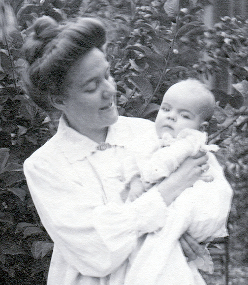 Baby Ursula on September 14, 1902, at age 3 months, 5 days