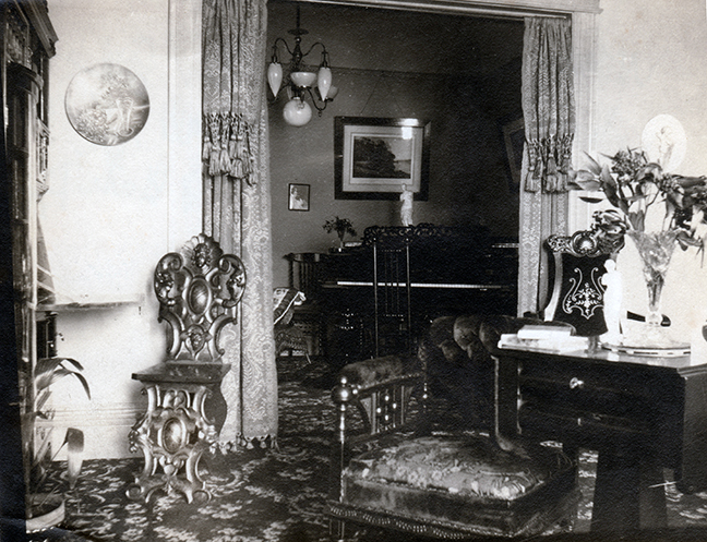 Baker St. house interior
