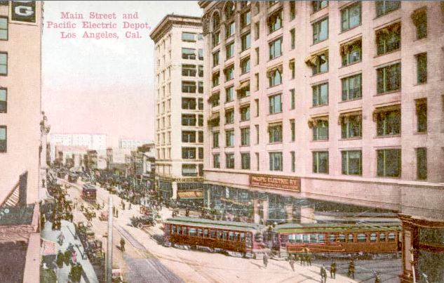 Pacific Electric depot