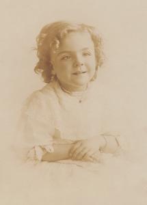Ursula Cheshire, age 4