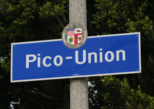 Pico-Union sign