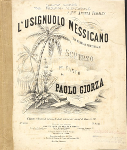 "sheet music for ""mexican nightingale"""