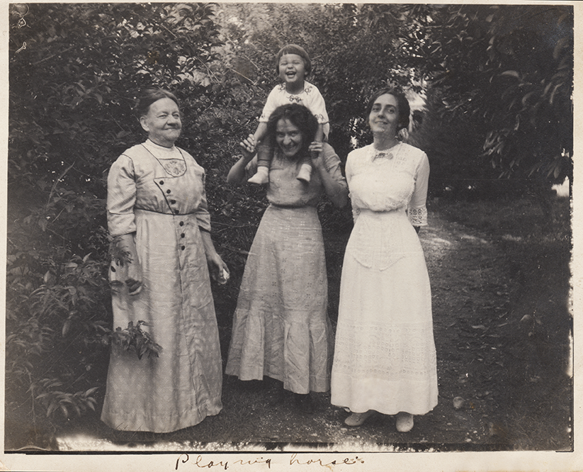 """Playing Horses"": Ursula's grandmother, aunts and cousin"