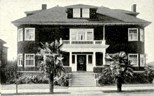 The Zeta Tau Alpha house where Ursula lived with her sorority sisters