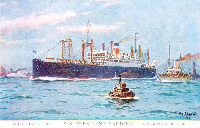 S.S.-President-Harding