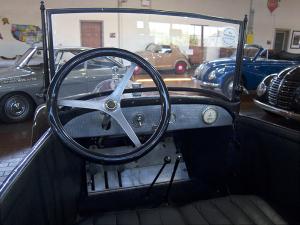 1924 Citroën 5CV Trèfle interior