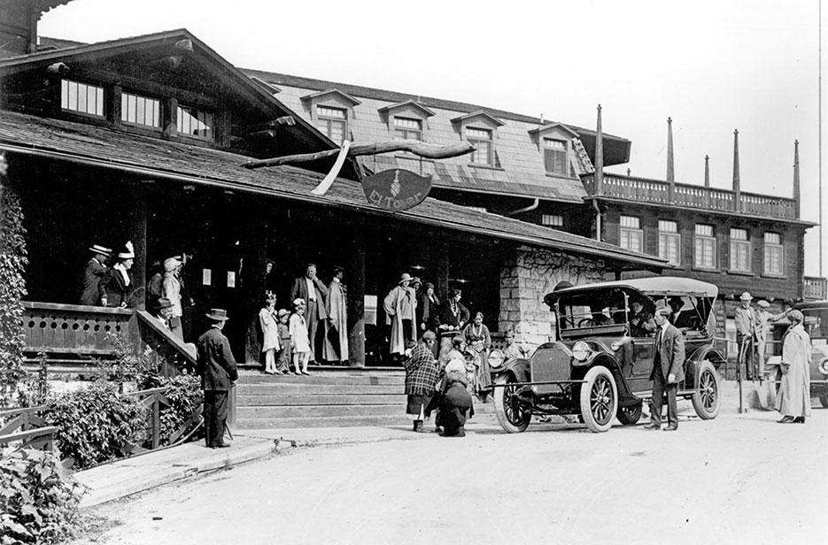 El Tovar Hotel 1920s