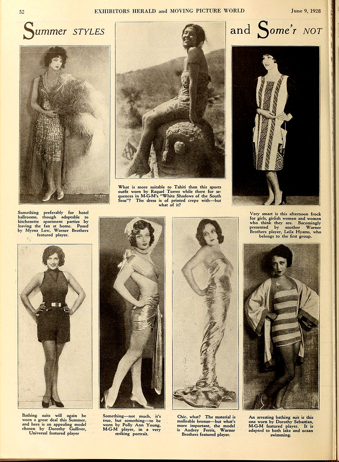 Fashions from Summer 1928