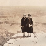 Ursula and Clara Cheshire in the Grand Canyon 1926