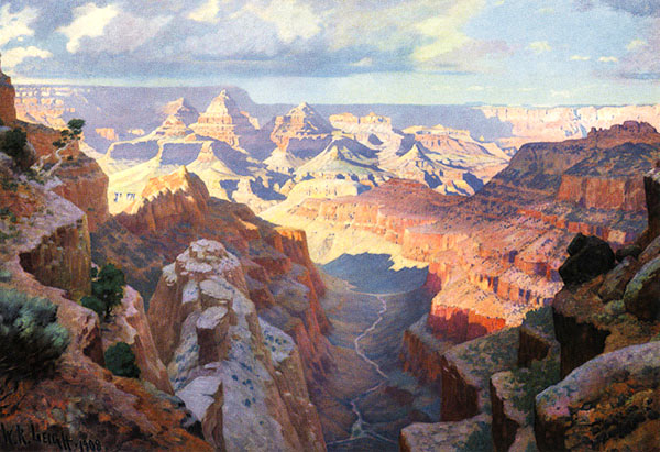 Grand Canyon by William Leigh