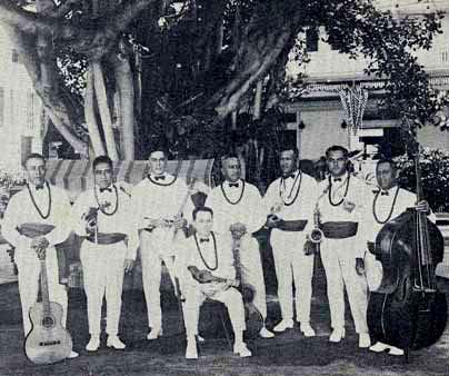 Moana Hotel Orchestra 1928