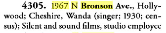 Movieland Directory excerpt
